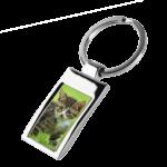 Metall-Schlüsselanhänger mit Foto